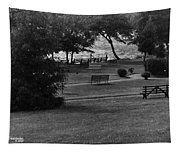 White Roe Lake Hotel - Livingston Manor Ny - Lawn To Lake Tapestry