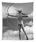 Who Needs Cupid 2 Monochrome Tapestry