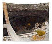 Wieliczka Salt Mine  Tapestry