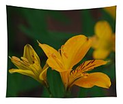 Wild Lilies Tapestry