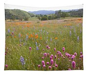 Wildflower Wonderland 6 Tapestry