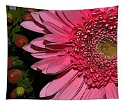 Wildly Pink Mum Tapestry