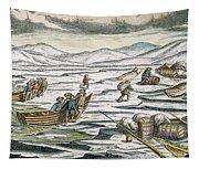 Willem Barents (c1550-1597) Tapestry