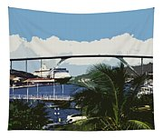 Willemstad - Curacao Tapestry