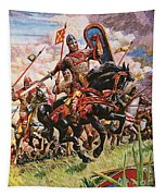 William The Conqueror At The Battle Of Hastings Tapestry