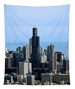 Willis Sears Tower 02 Chicago Tapestry