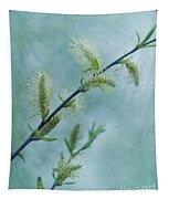 Willow Catkins Tapestry by Priska Wettstein