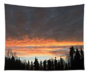 Willow Sunrise Tapestry
