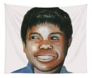 Wilma Rudolph Tapestry