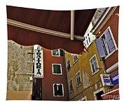 Windows In Venice Tapestry
