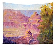 Windy Day In The Canyon Tapestry