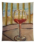 Wine By The Water Tapestry