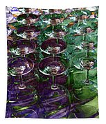 Wine Goblets Tapestry