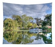 Winery Pond Tapestry
