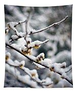 Winter Fleurs Tapestry