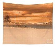 Winter Flight Tapestry