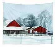 Winter Respite In The Heartland Tapestry