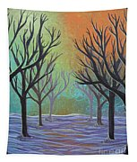 Winter Solitude 11 Tapestry