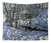 Winter Stream Tapestry