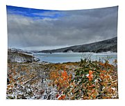 Wintry Dusting Tapestry