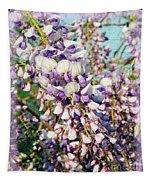 Wispy Wisteria Tapestry