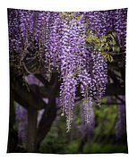 Wisteria Droplets Tapestry