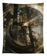 Within Whorls Of Beauty Tapestry