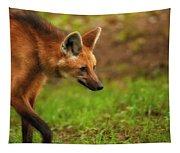 Wolf Strut Tapestry