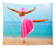 Woman Dancing Tapestry