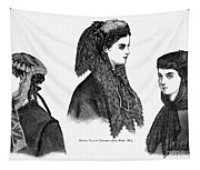 Womens Hats, 1868 Tapestry