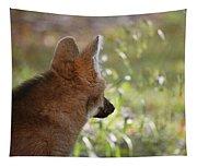 Wondering Wolf Tapestry