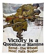 World War I: Poster, 1917 Tapestry