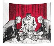 World War II: Cartoon Tapestry