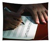 Writing Music Tapestry