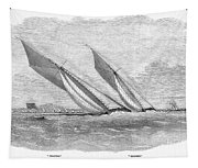 Yacht Race, 1854 Tapestry