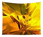 Yellow Abstract Tapestry