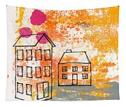 Yellow House Tapestry