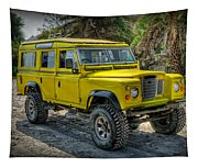 Yellow Jeep Tapestry