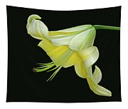 Yellow Lily Tapestry