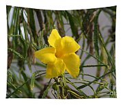 Yellow Orchid Tapestry