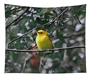 Yellow Songbird Tapestry