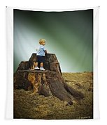 Young Boy Tapestry