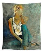 Young Girl 562190 Tapestry
