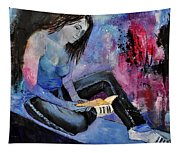 Young Girl 662160 Tapestry