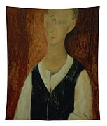 Young Man With A Black Waistcoat Tapestry
