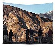 Zabriske Sunrise Watchers Tapestry