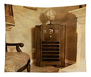 Zenith Consol Radio 1940's  Tapestry