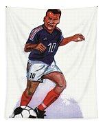 Zinedine Zidane 01 Tapestry