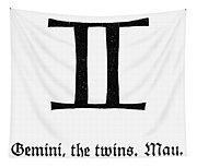 Zodiac: Gemini Tapestry