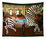 Zoo Carousel 2012 Tapestry